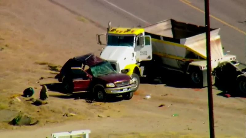 """A """"mass casualty"""" crash involving an SUV carrying 25 and a big rig is under investigation in..."""