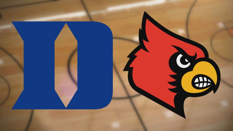 Duke at Louisville Basketball