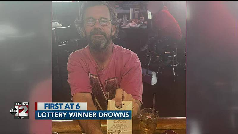 Lottery winner drowns with winning ticket in his pocket