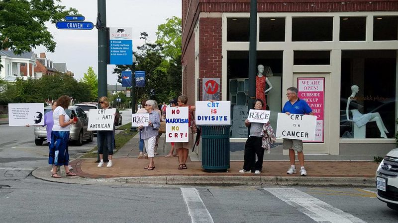 Craven County protesters oppose critical race theory