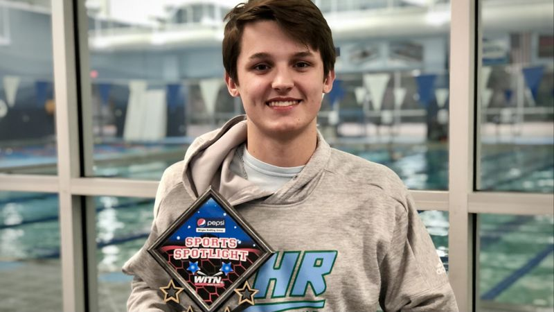 Russell Exum - WITN Sports Spotlight - J.H. Rose senior swim standout committed to SMU