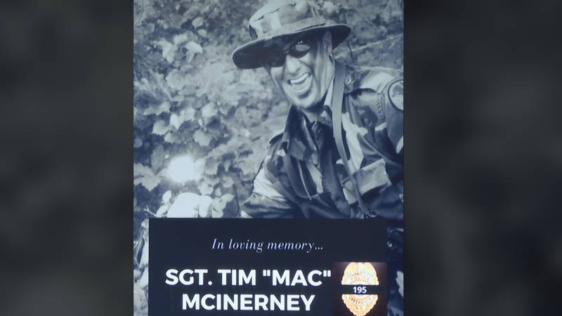 """GPD remembers sgt. Tim """"Mac"""" McInerney who died in a house fire in Ayden on Saturday."""
