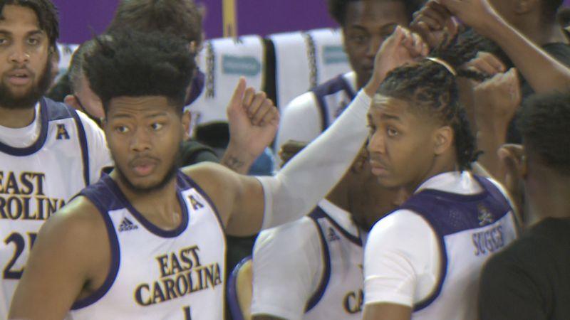 Jayden Gardner ECU Basketball