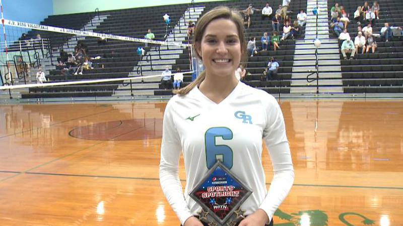 JH Rose volleyball player overcomes multiple ACL tears to return to star for the Rampants.
