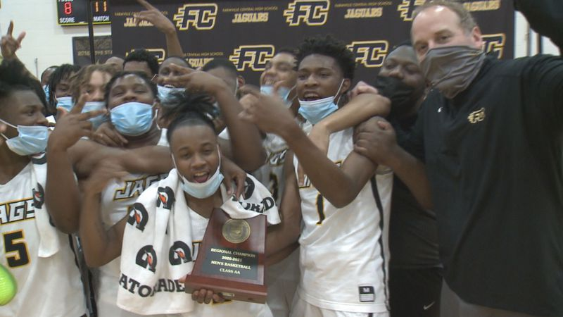 Farmville Central Basketball clinches third straight state title appearance