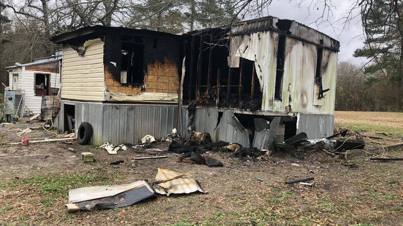 The Rivera family lost their Rose Hill home Thursday morning because of an electrical short,...