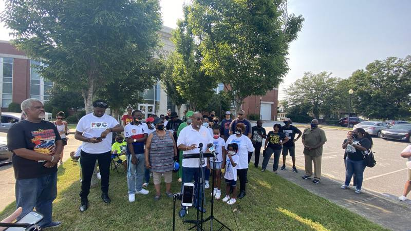 100th day of protests in Elizabeth City