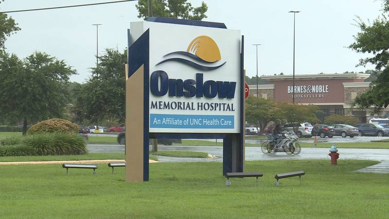 Hospital sees surge in COVID hospitalizations.