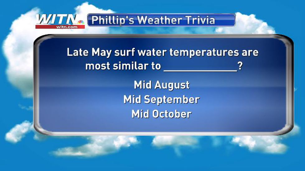 Phillip's Weather Trivia May 26