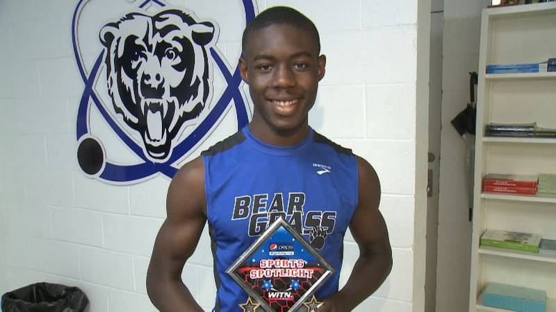 Pepsi Sports Spotlight on Omari Brown Bear Grass Charter sophomore cross country runner