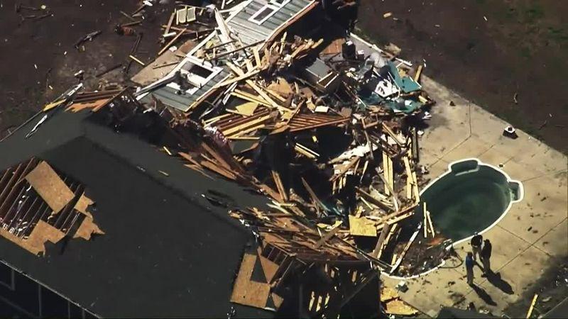 Deadly tornado strikes North Carolina coast