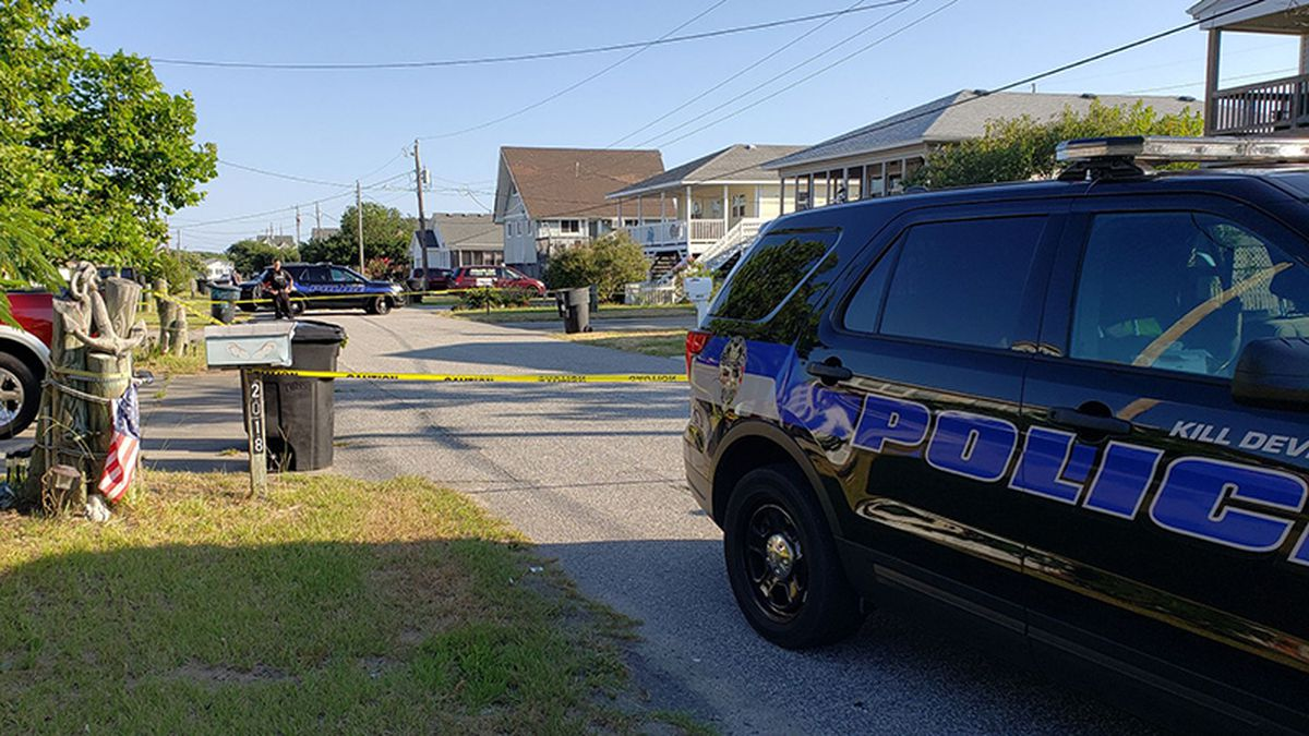 An 18-year-old man was shot early Tuesday morning on Elizabeth City Street.