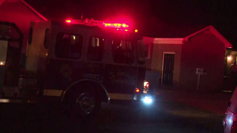 Two were injured in a townhouse fire in La Grange on September 28, 2021.