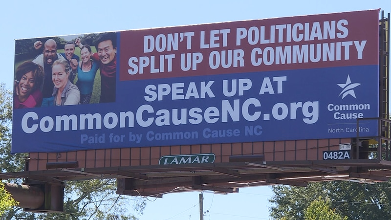 Greenville billboard opposes gerrymandering