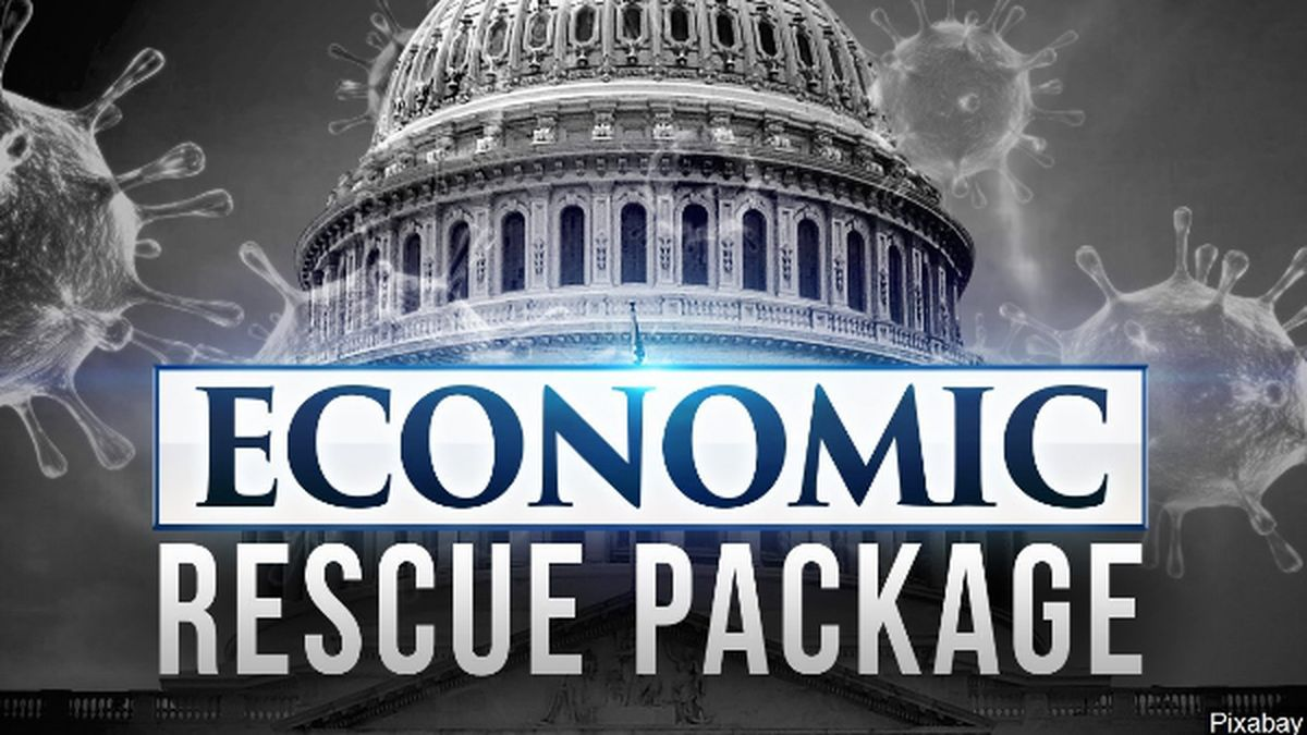 Congressional leaders and the White House reached a deal on a massive Coronavirus relief package early Wednesday morning.