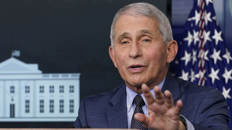 Dr. Anthony Fauci, director of the National Institute of Allergy and Infectious Diseases,...
