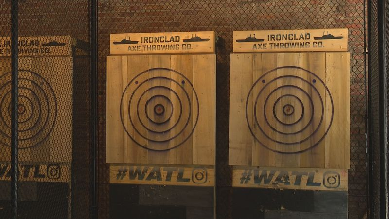 Ironclad Axe Throwing Co. in Kinston.