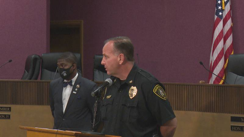 Kinston city officials hold a press conference after viral video.