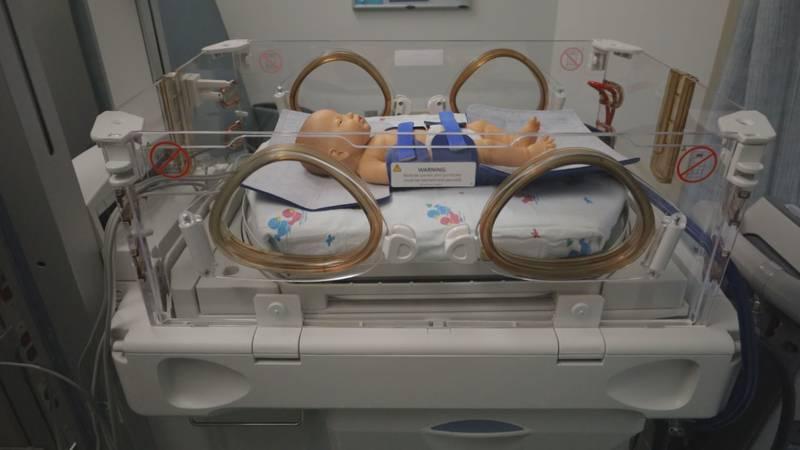 This machine helps prevent HIE in newborns.
