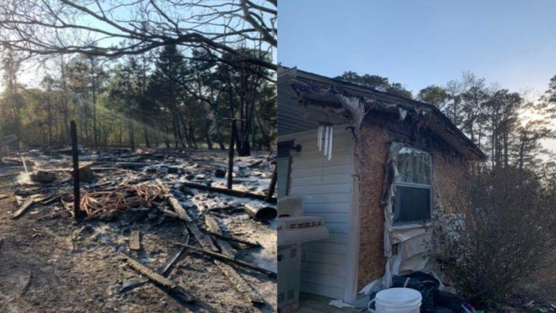 Garage destroyed, homes damaged in MHC fire