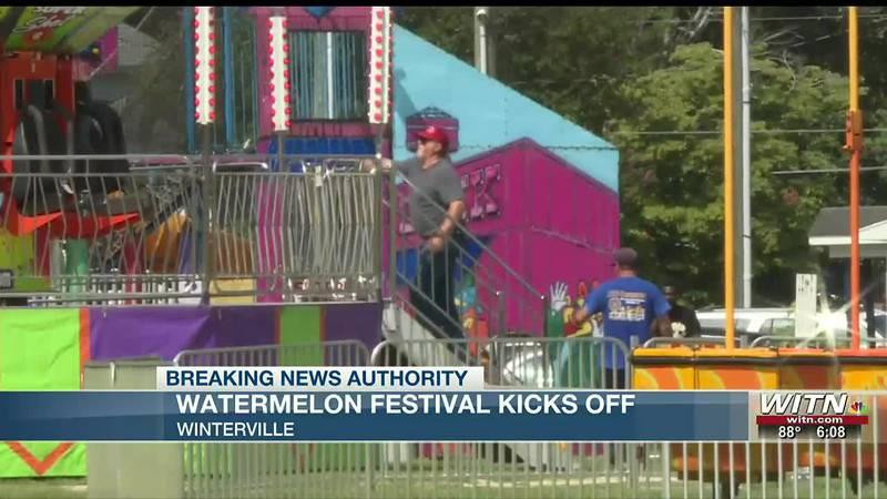 Winterville Watermelon Festival kicks off