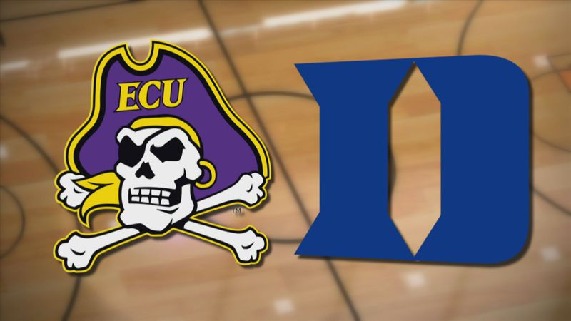 ECU Basketball at Duke