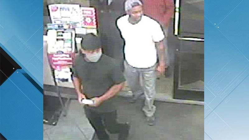 Greenville Police say these two men are persons of interest surrounding a series of break-ins.