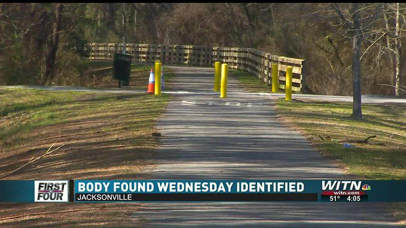Body found Wednesday in Jacksonville identified