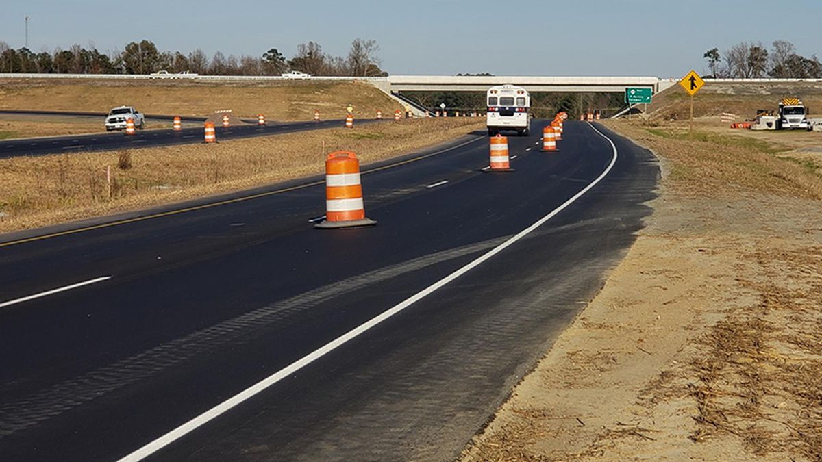The state is closing down work zones during the long Thanksgiving holiday weekend.