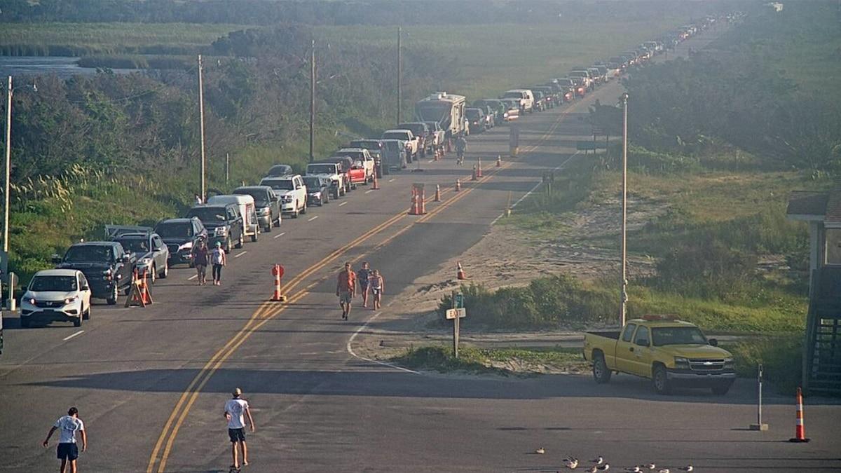 Ocracoke evacuations underway