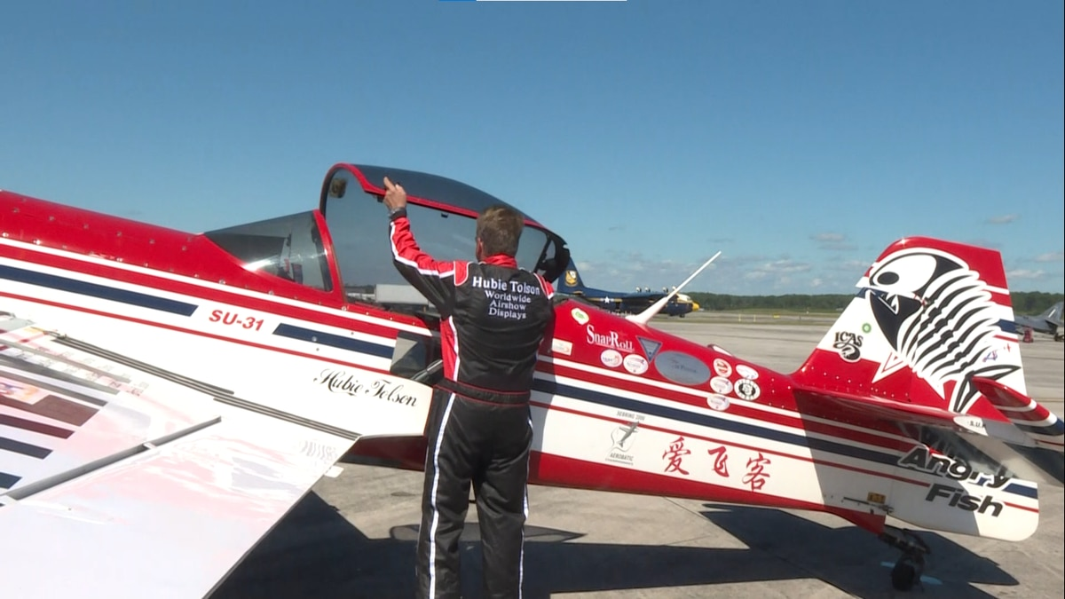 He has been flying for over 40 years.