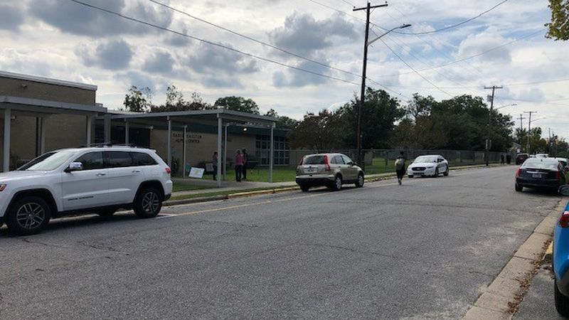 Sadie Saulter Elementary went on temporary lockdown after shots were fired nearby.