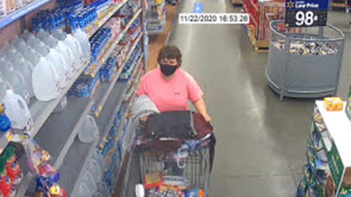 Police in Roanoke Rapids are asking for your help in solving a theft from their Walmart.