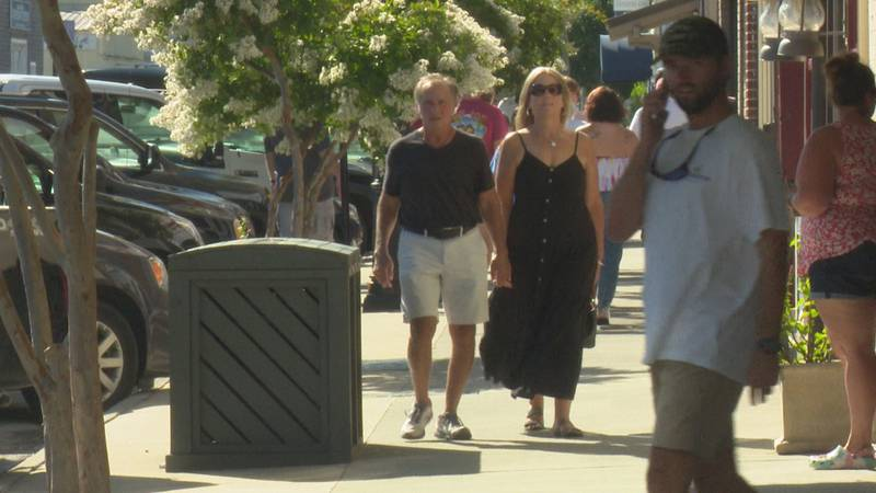 Coastal towns ready for holiday weekend.