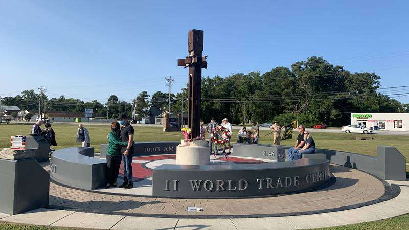 The memorial is located at the Havelock Police Department.