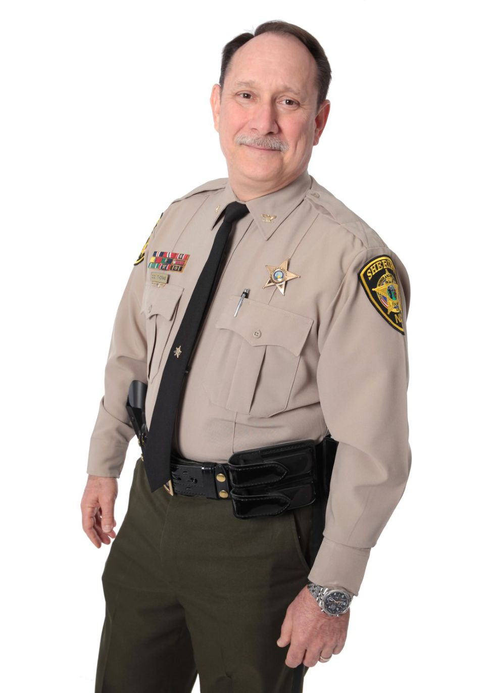Colonel Chris Thomas, announces candidacy for Onslow County Sheriff.