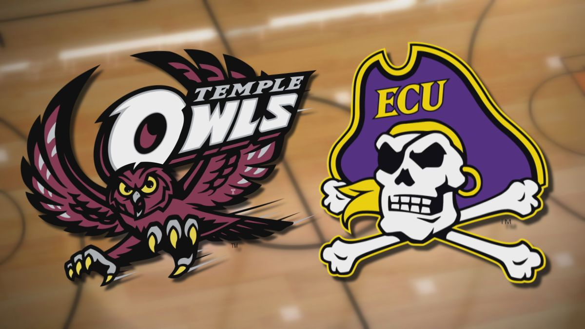 Temple at ECU Basketball