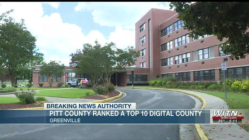 Pitt County ranked a top 10 digital county