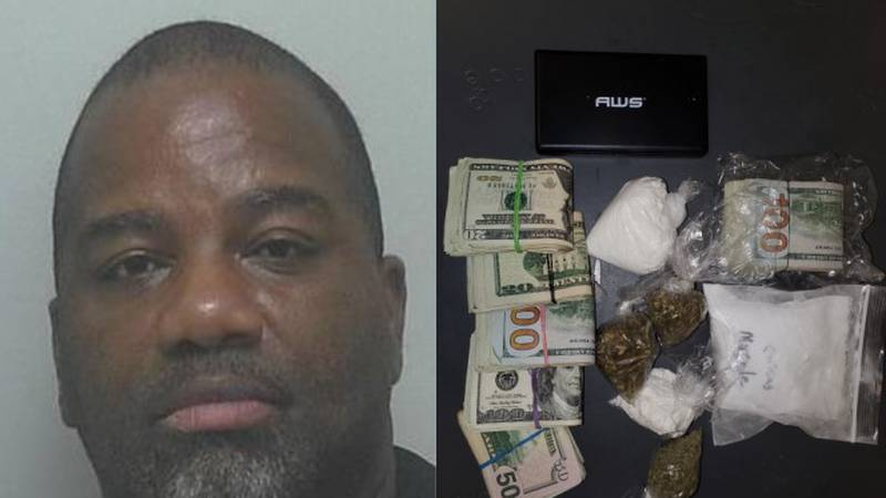 Marcus Reddick faces drug charges
