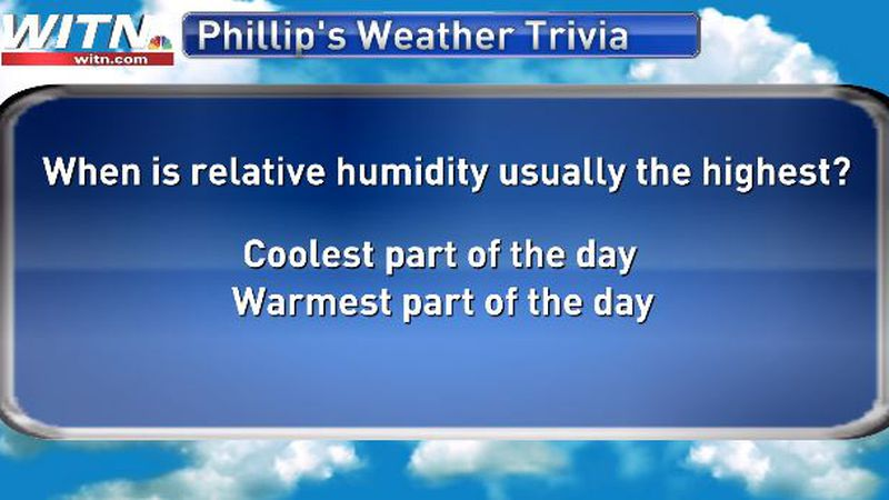 Phillip's Weather Trivia June 7