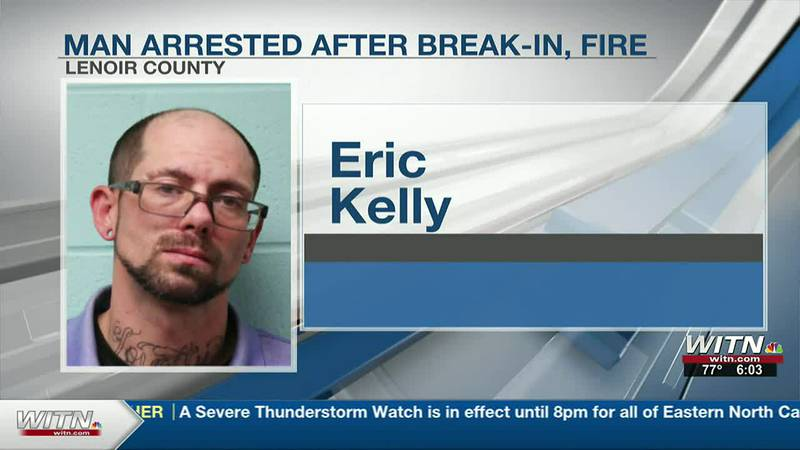 Kinston man faces charges in break-in, fire at Speedway