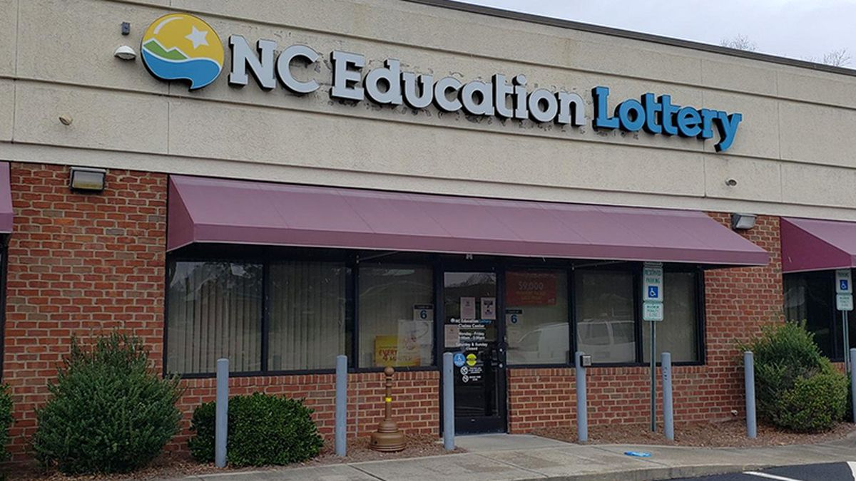 This is the regional lottery office on Dickinson Avenue in Greenville.