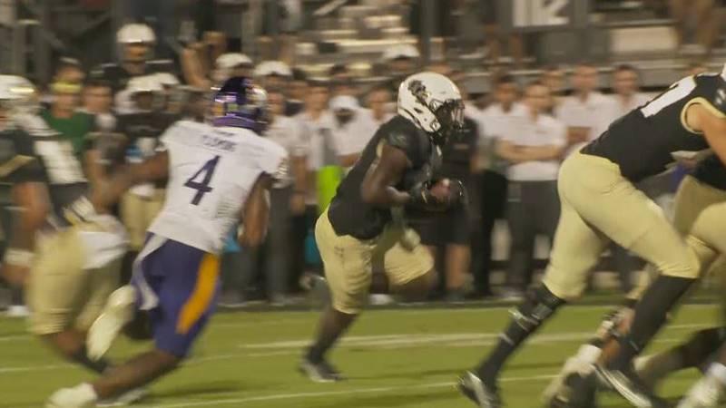 East Carolina football fell at Central Florida 20-16 Saturday night.