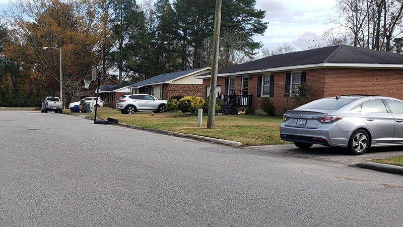A Kinston man was shot and killed on this Ayden Street Wednesday night.