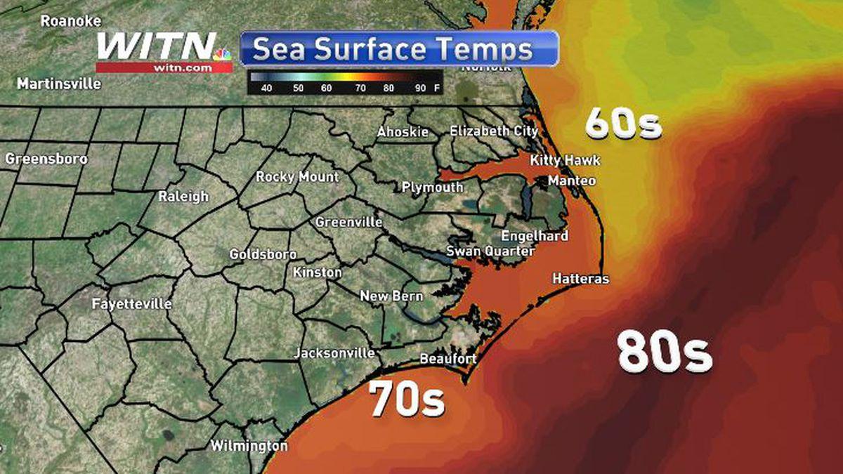 Sea Surf Temperatures May 26