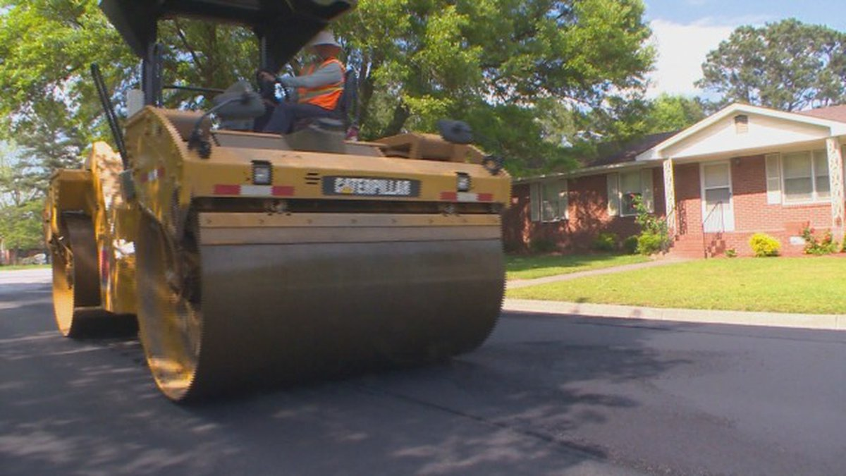 Greenville Council approves street resurfacing