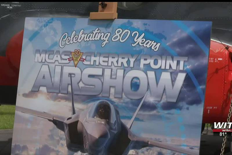 Vehicle pass required to attend the Cherry Point Air show