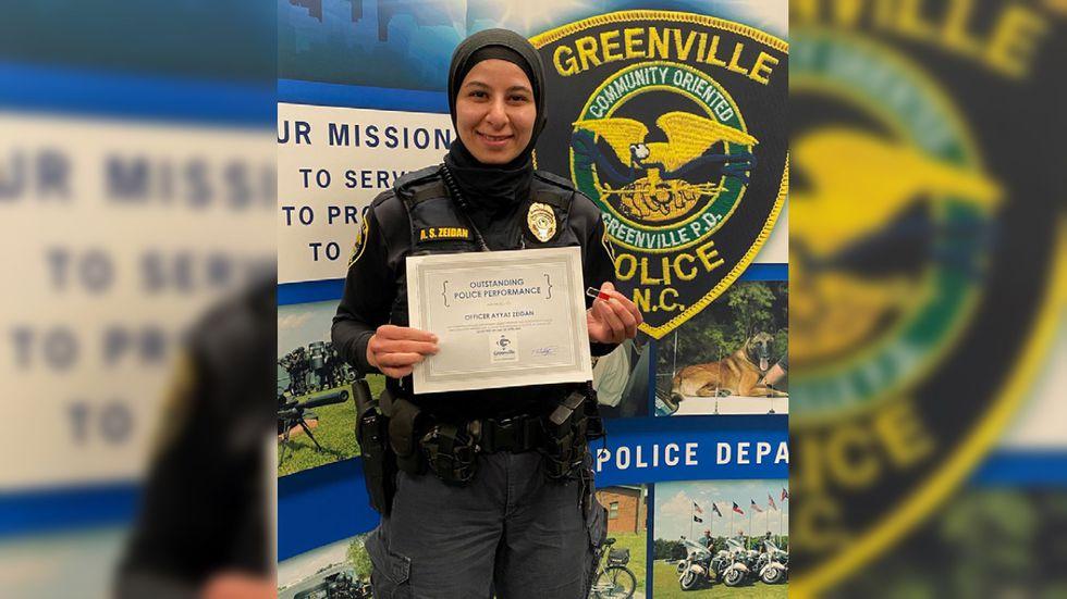 GPD Officer Ayyat Zeidan