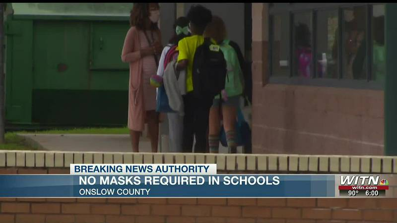 No Masks Required: Onslow school board set to ignore state health guidance