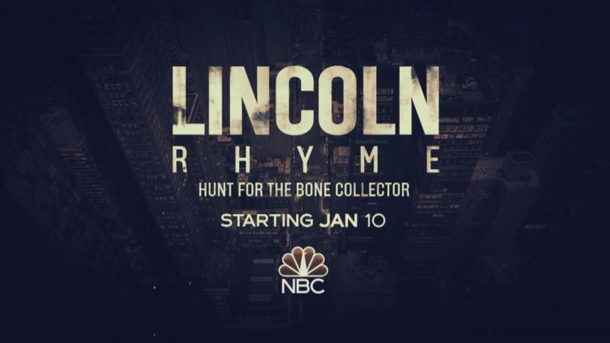 "A hit movie from 1999 serves as the basis for a new drama: ""Lincoln Rhyme: The Hunt For The Bone Collector."" (image source: NBC News Channel)"